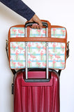 Flamingo - Laptop Messenger Bag
