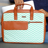 Chevron - Laptop Messenger Bag