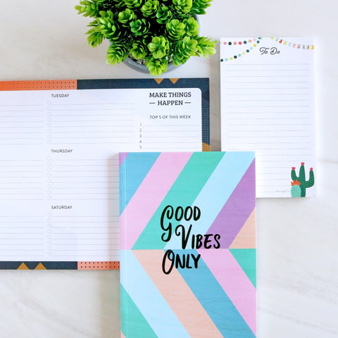 Good Vibes - Stationery Collection