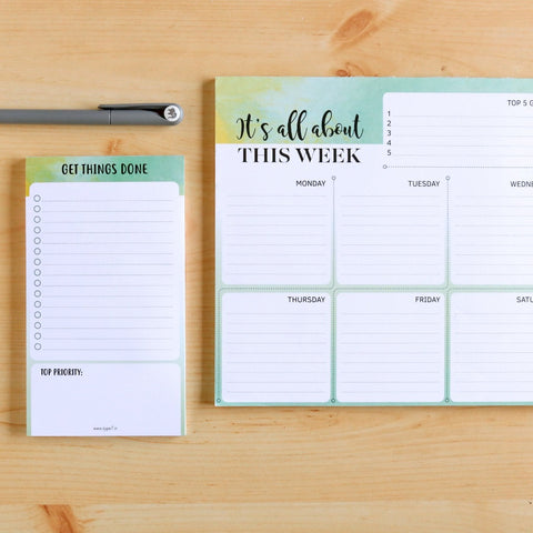 Get Things Done - Stationery Set