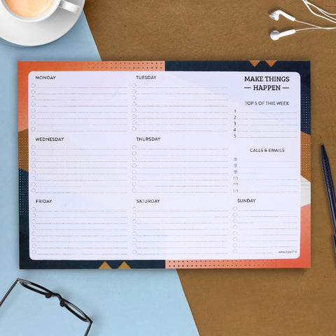 Make Things Happen - Weekly Planner
