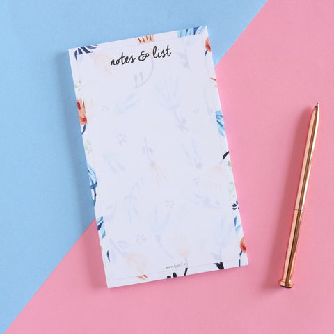 Paper Notepads by Type7, Make your To-Do List, Market Shopping List with cute Notepad Sheets, Buy Online