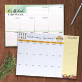 Set of 2 Weekly Planners - This Week & What's Cooking