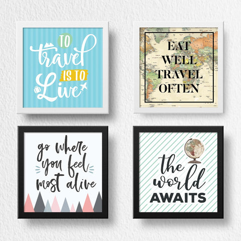 Set of 3 Art Frames - Wanderer