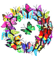 Colorful 3D Colorful Butterfly Barrettes