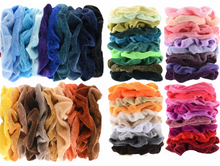 Variety Velvet Scrunchies Set