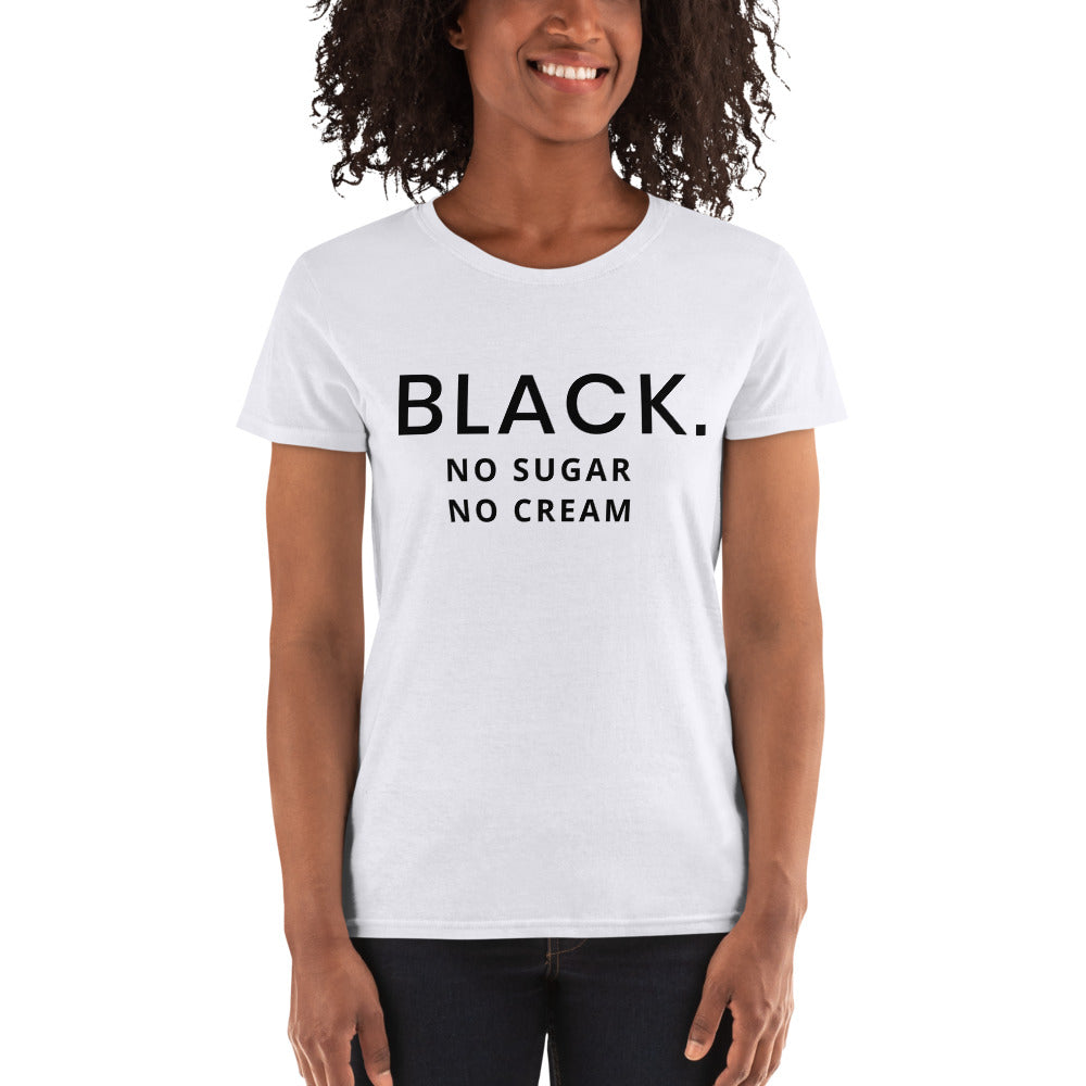 BLACK Women's short sleeve t-shirt