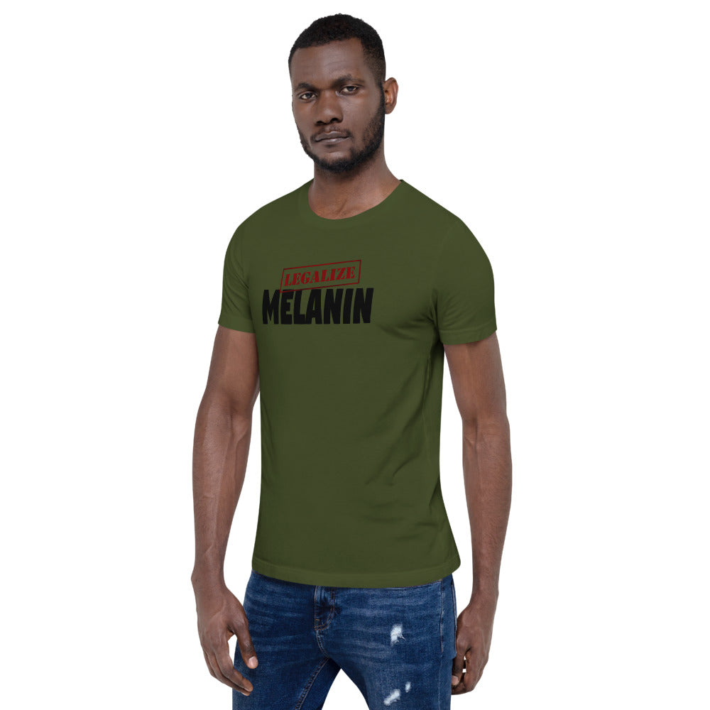 Legalize Melanin Short-Sleeve Unisex T-Shirt