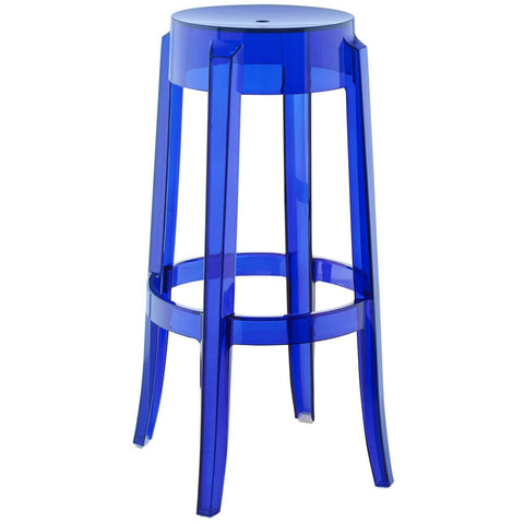 Stool Acrilico Azul Royal