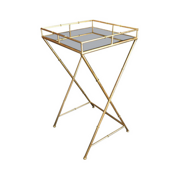 Chic Bamboo Small Table