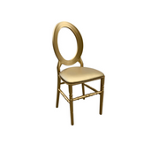 O Chair Gold