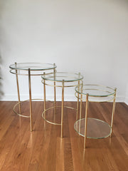 Vintage Nesting Tables (3)