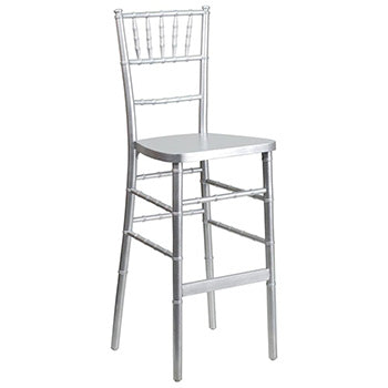 Tiffany Stool Plata