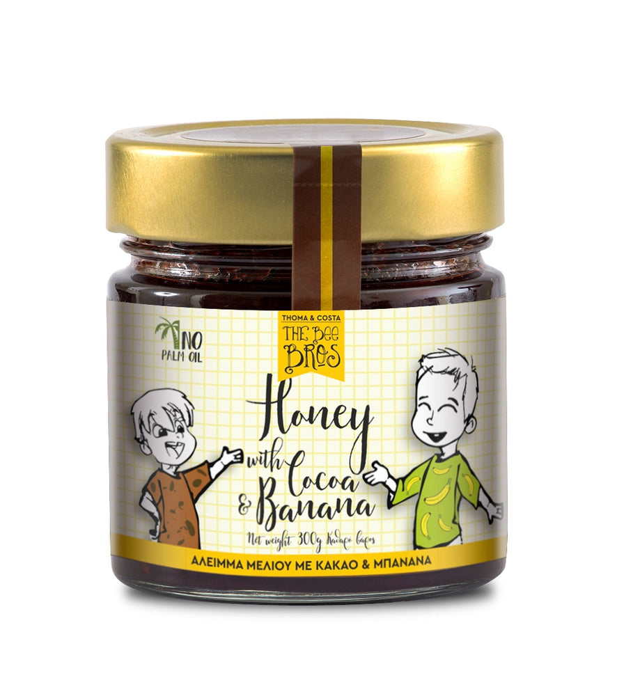 The Bees Bros Honey with Cocoa & Banana