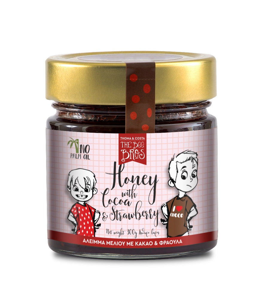The Bees Bros Honey with Cocoa & Strawberry