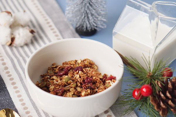 Christmas Orange Spiced Granola