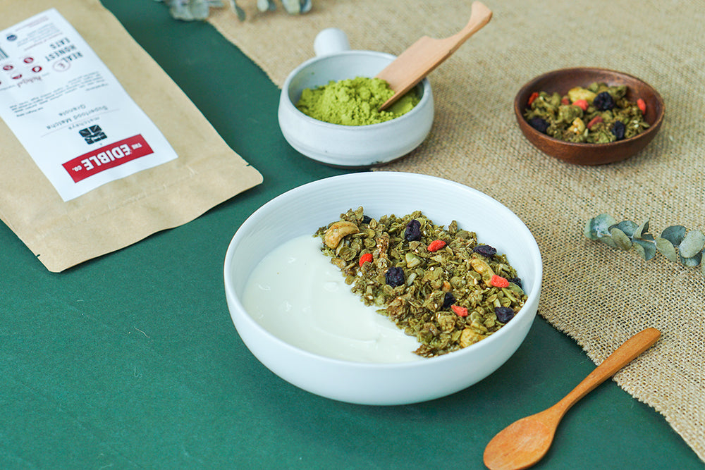 Superfood Matcha Granola