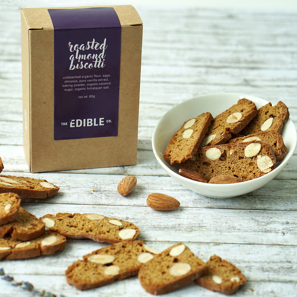 Roasted Almond Biscotti