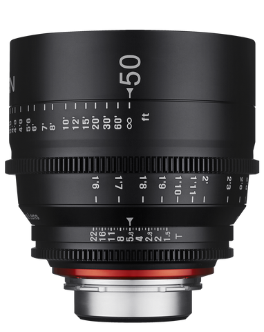 XEEN 50mm T1.5 Professional Cinema Lenses