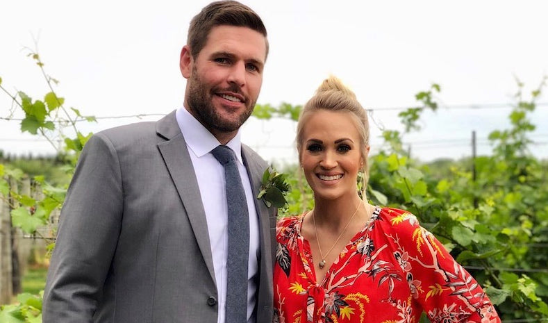 Carrie Underwood Looks As Beautiful As Ever Attending Family Wedding With Husband Mike Fisher