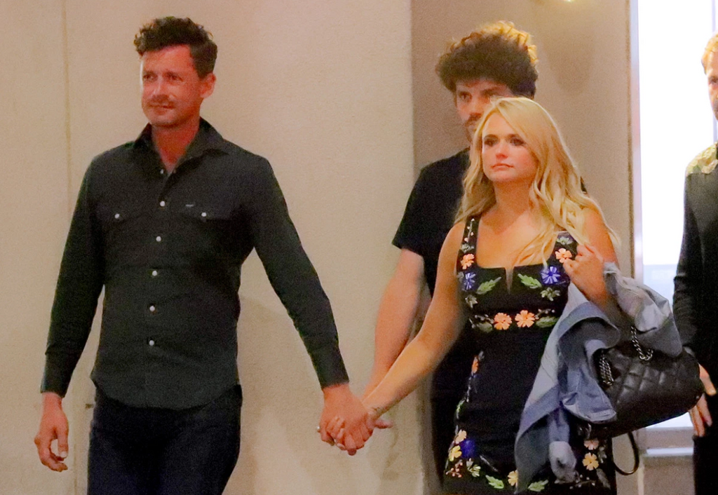Miranda Lambert and Evan Felker Hold Hands During New York City Outing