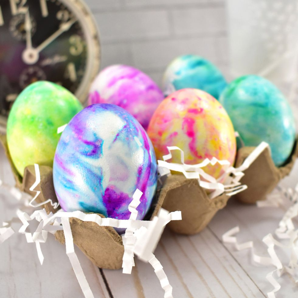How to Make Shaving Cream Easter Eggs for Your Most Colorful Holiday Yet