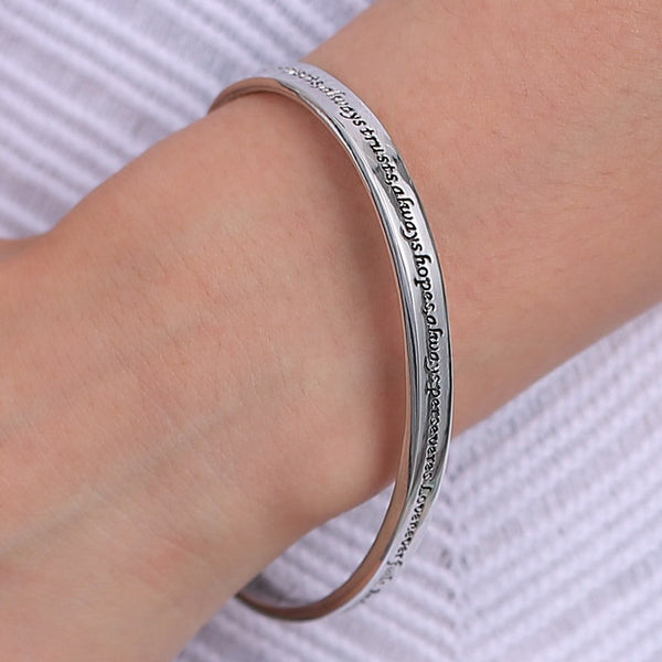 Love is Patient, Love is Kind Bracelet