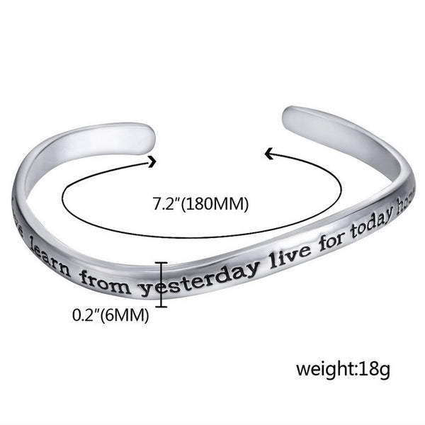 Live The Life You Love Bracelet