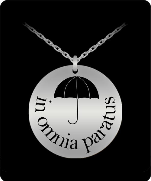 In Omnia Paratus Necklace - Gilmore Girls