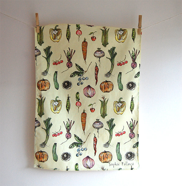 Allotment Tea Towel