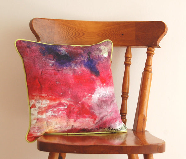 "Limited Edition 16"" Autumn Leaves Cushion"