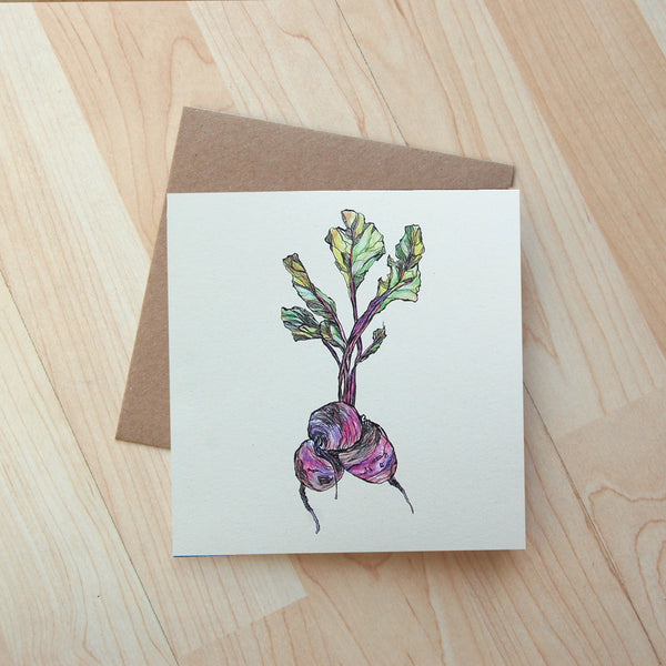 Beetroot Card