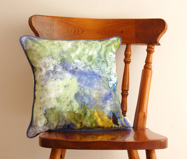 "Limited Edition 16"" Bluebells Cushion"