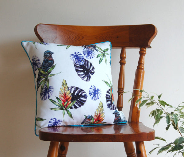 Blue Tropics Cushion