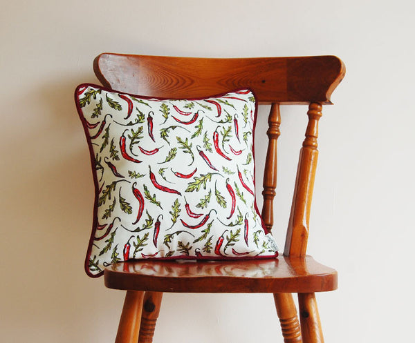 Chilli and Rocket Cushion