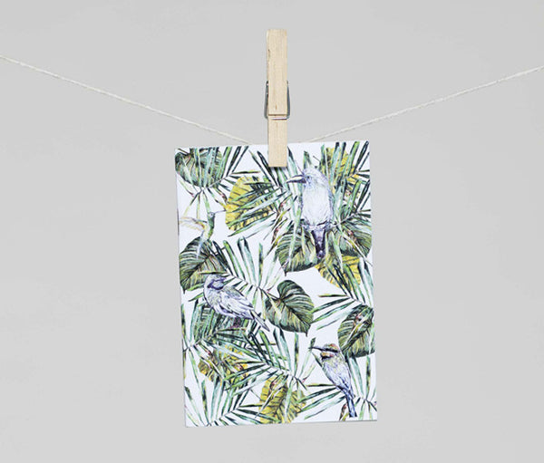 1 x A6 Tropical Birds Notebook