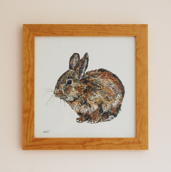 Rabbit Illustration Print