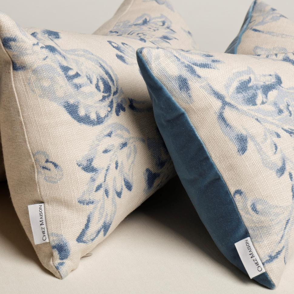 Retangle linen and cotton Chez Maison Cushion
