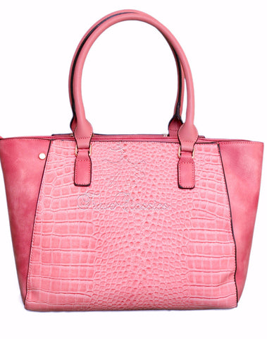 Bessie London Mock-Croc Ladies Bag BB2703 - Frave Classics - 1