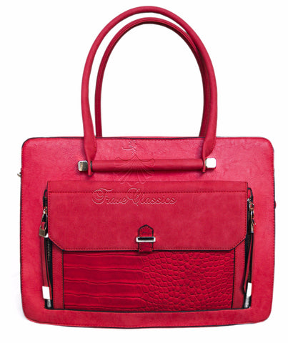 Bessie London Red Handbag BB2705 - Frave Classics