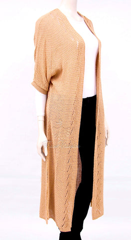 Side Split Open Maxi Cardigan - Frave Classics - 1