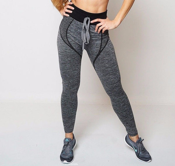 Yania Dark Grey Active and Loungwear Legging - Frave Classics - 2