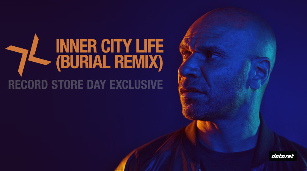 "BURIAL REMIX OF GOLDIE'S ""INNER CITY LIFE"""
