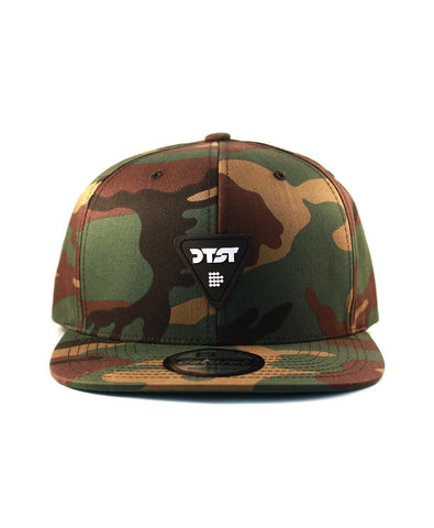 Low Logo Snapback | Jungle Camo