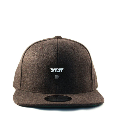 Low Logo Snapback | Gray Wool