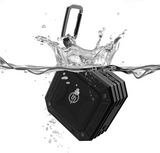 TECHQ HyrdoSound Sport - Waterproof (IP67) Outdoor Bluetooth Speaker 5W - 16 hours of play time