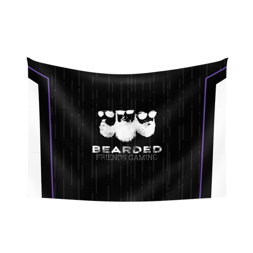 Bearded Friends Gaming Flag