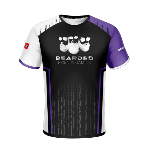 Bearded Friends Gaming jersey