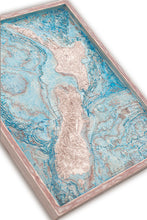 New Zealand 3D Wooden Map, colored