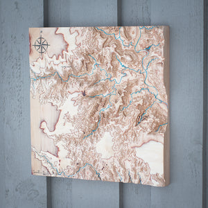 3D Map of Palo Duro Canyon, TX